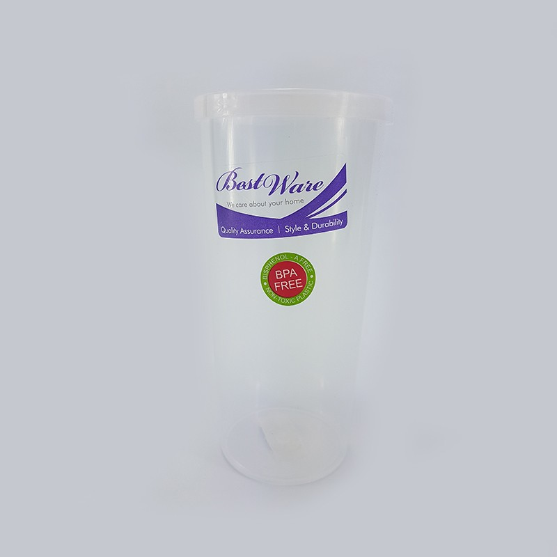 WATER BOTTLE 有盖水罐-白色