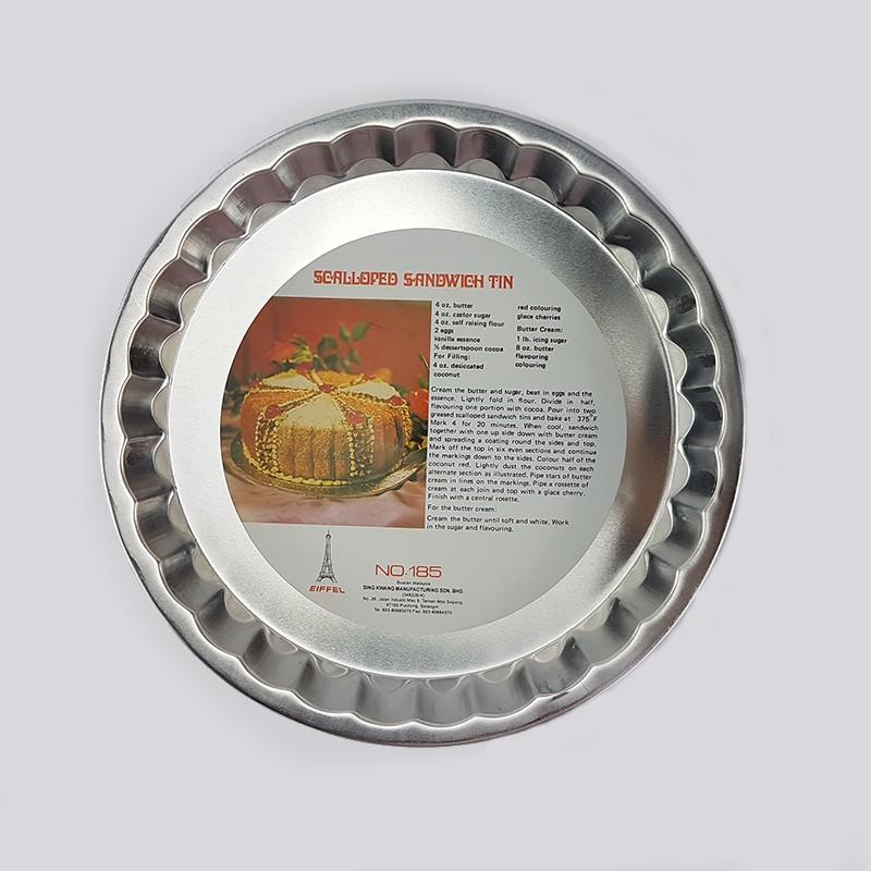 "SANDWICH TIN 蛋糕盘 8.5"""