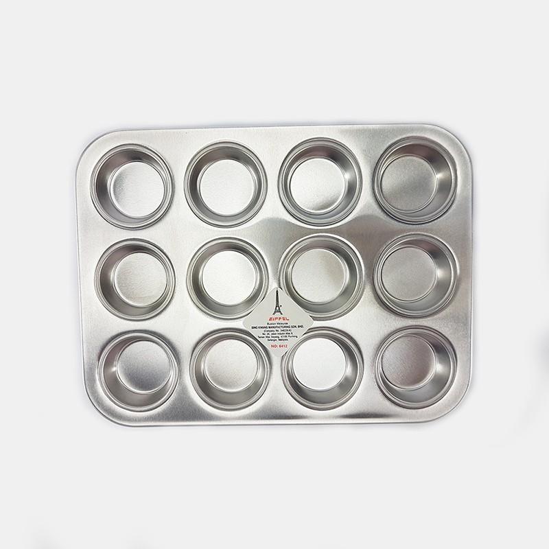 12HOLE PATTY BUN TIN蛋糕盘