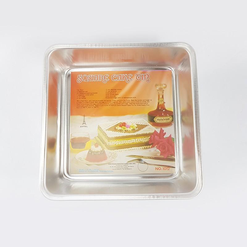 SQUARE CAKE TIN 蛋糕盘 8