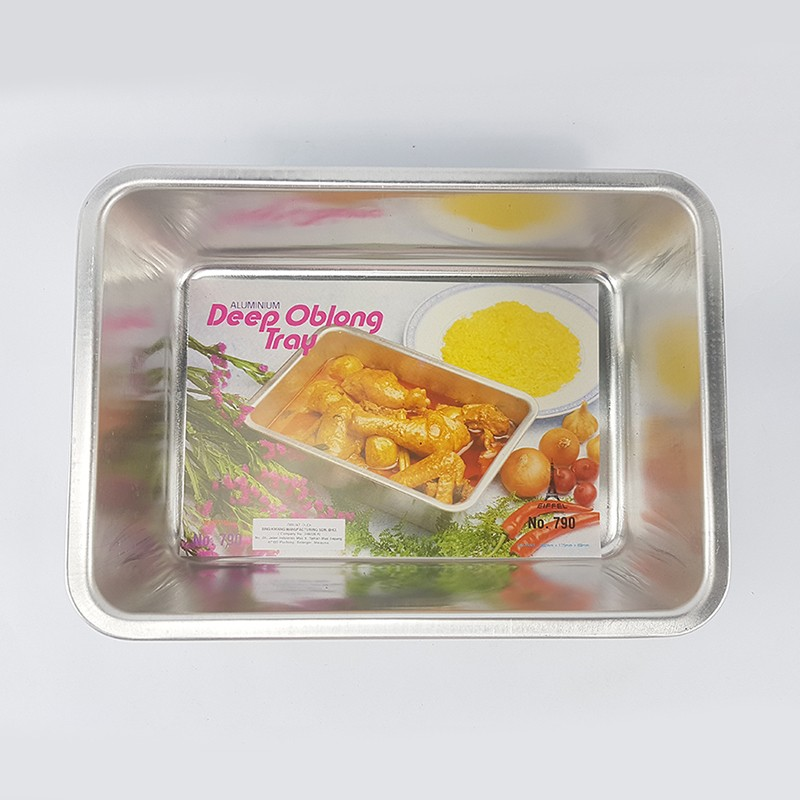 DEEP OBLONG TRAY 蛋糕盘