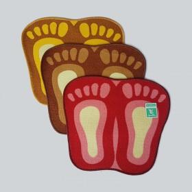 FOOT MAT-PLAIN 脚印垫