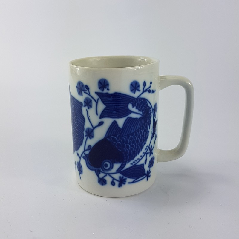 BLUE FISH MILK MUG兰鱼奶杯